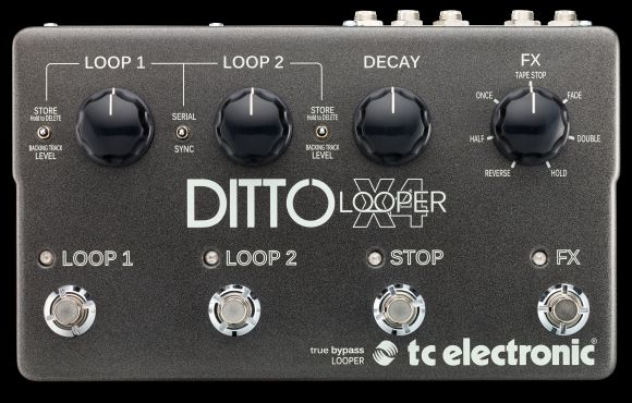 tc electronic ditto x4 looper review looper pedal reviews. Black Bedroom Furniture Sets. Home Design Ideas