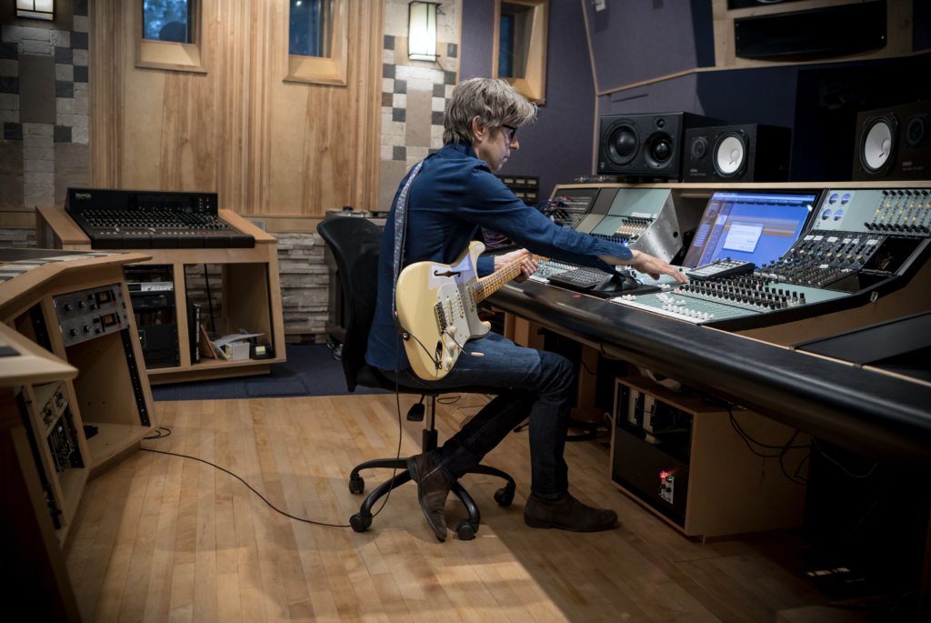 Eric Johnson en el estudio