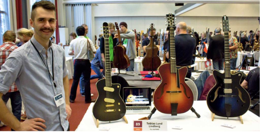 TLL Guitars en Holy Grail Show