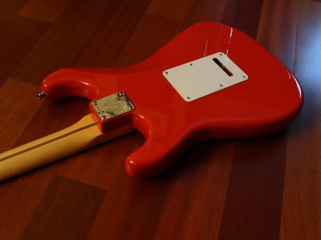 Fender Vintage Hot Rod 50s Stratocaster back