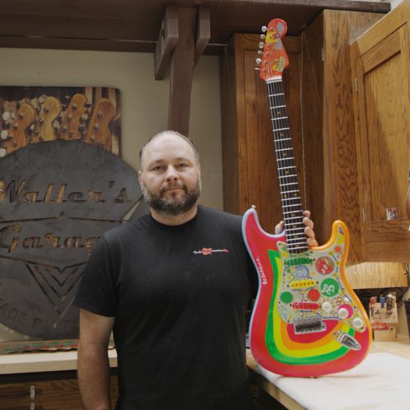 Paul Waller Rocky Stratocaster