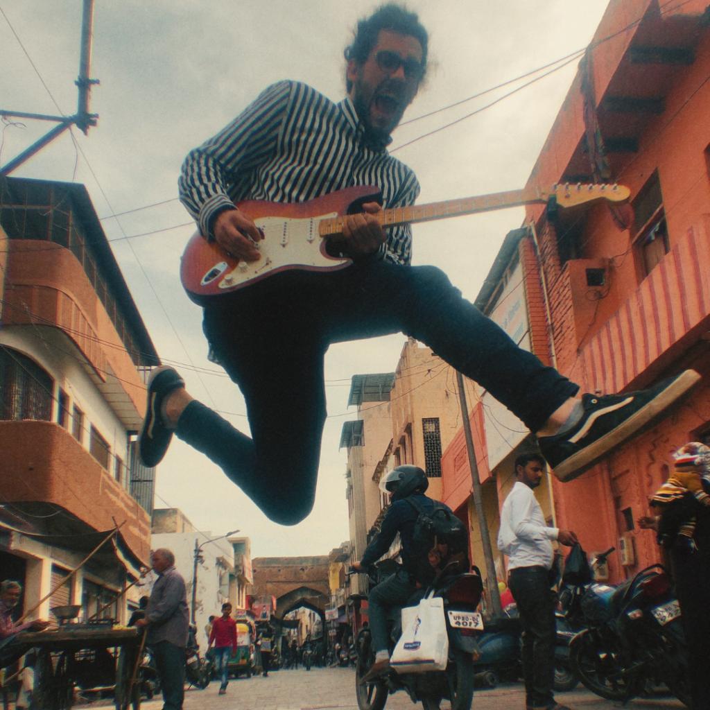 Borja Catanesi en la calle
