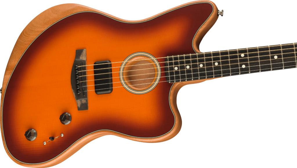 Fender American Acoustasonic Jazzmaster cuerpo
